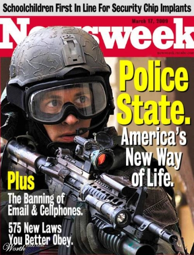 The United States: Police State Today, Martial Law Tomorrow; Part I